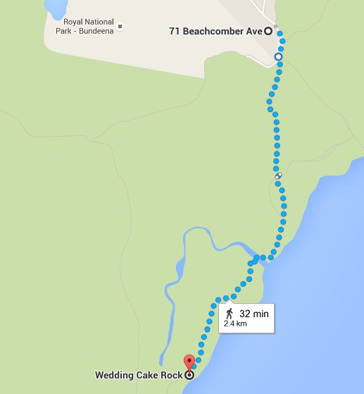 Bundeena To Wedding Cake Rock Walk