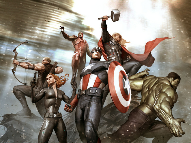 marvel, adi, granov, creating, cinematic, universe, goma, gallery, modern, art