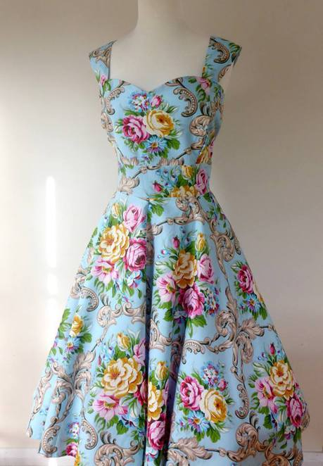 Miss Katt vintage retro dresses