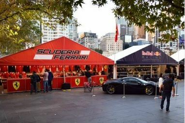 motorsport, fan zone, melbourne, formula one, crown towers, karting, 2019