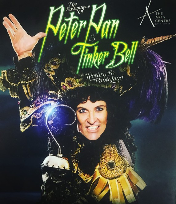 peter pan, tinker bell, panto, bonnie lythgoe, gold coast,