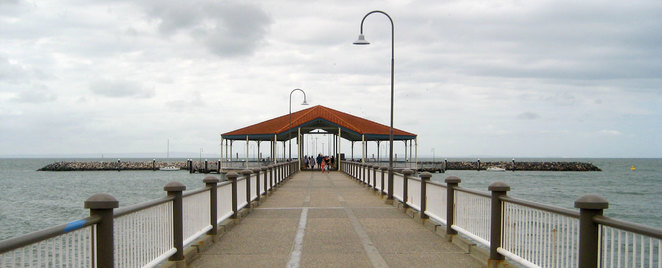 The famous Redcliffe Jetty