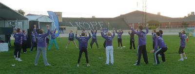 relay for life, adelaide showground, zumba with kheshan