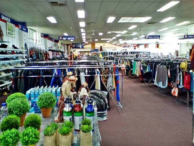 salvos, fyshwick, canberra, op shops, second hand stores, ACT, biggest,