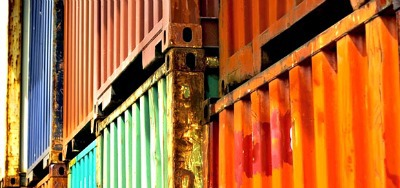 Shipping containers - Containerval Festival