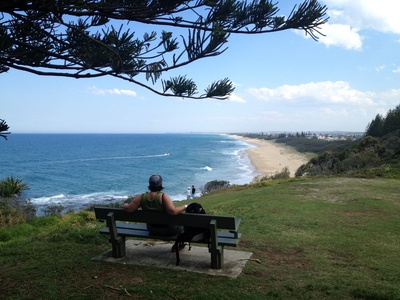 Sit, relax and enjoy that beautiful view that extends all the way down to Caloundra