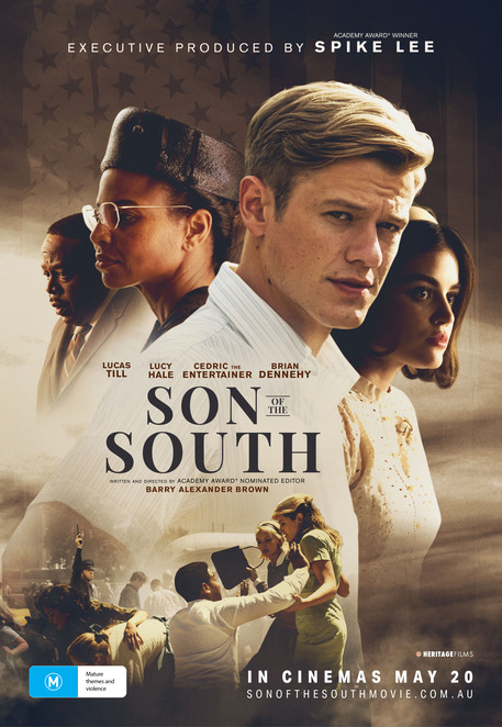 son of the south film review, director barry alexander brown, the wrong side of murder creek, true story, important issues, heritage films, cinema, fun things to do, date night, nightlife, performing arts, actors, Lucas til, Julia Ormond, brian Dennehy, Cedric the entertainer