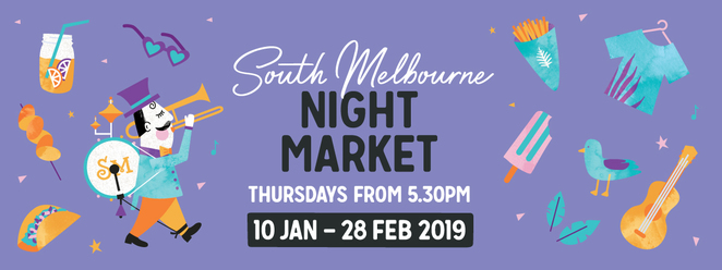 South Melbourne Night Market 2019