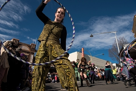 Street Performer, Artists, Winter Festival, Winter Magic Festival Katoomba, Blue Mountains