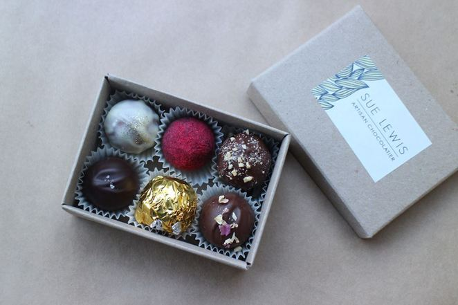 Image Courtesy of the Sue Lewis Artisan Chocolatier facebook page