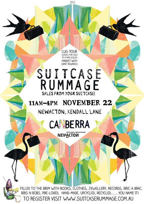 Suitcase rummage 2015 canberra, markets, second hand, new acton precint,