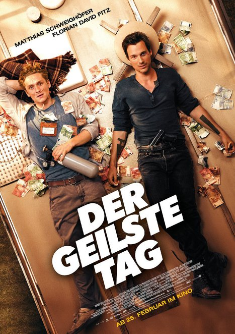the most beautiful day, der geilste tag, german film festival 2016, goethe instutit australien, film review, movie review, german movie, subtitles, foreign movies, cultural event, community event, palace cinemas, kino cinemas, actors, performing arts, matthias scheighofer, florian david fitz, rainer bock