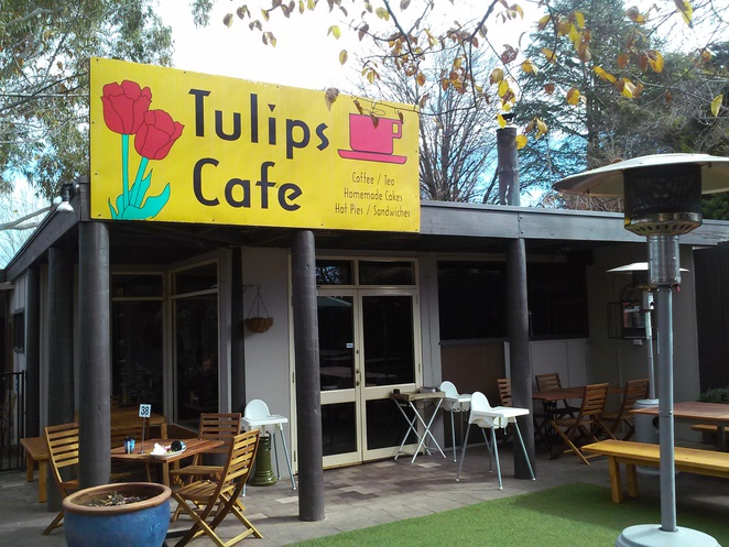 Tulips Cafe Pialligo family friendly cafe
