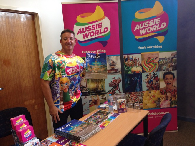Wayne Poole, Sales Manager, Aussie World, morphing to Downunder Drive