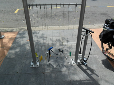 Southbank Bicycle Repair Stations