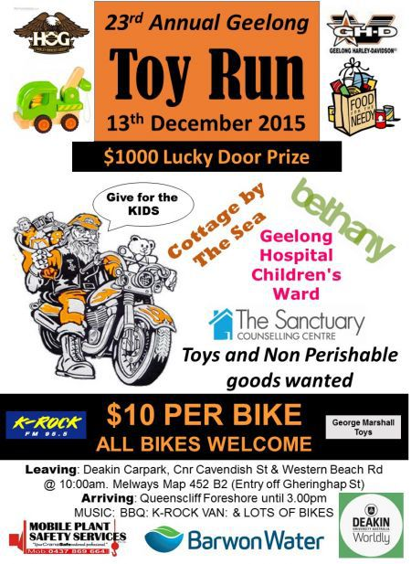 Annual Toy Run Geelong
