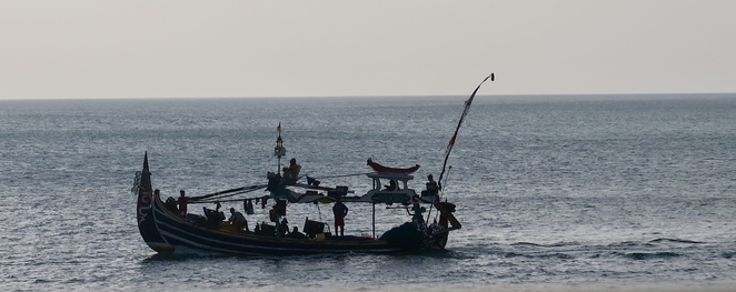 Balinese fishing boat