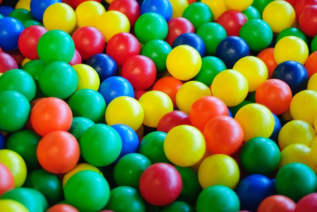 ball pit, balls, plastic, colourful, colorful, colour, play, pit