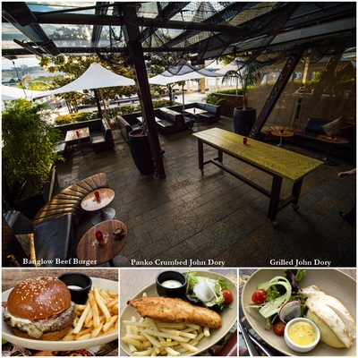 Bangalow8, burger, john dory, darling harbour, king street wharf,