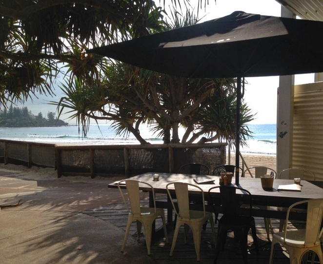 Beach cafe Caloundra