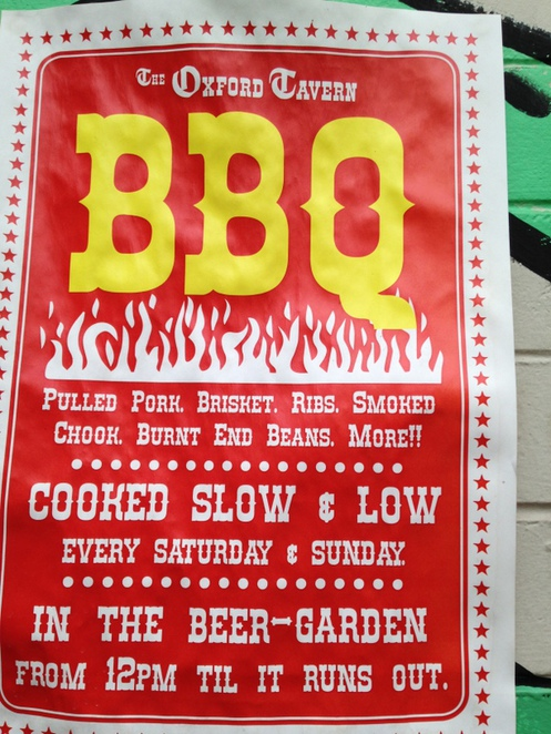 Black Betty's Barbeque Oxford Tavern Weekends