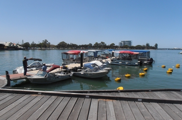 Hiring a boat is another way to explore Mandurah's spectacular waterways.