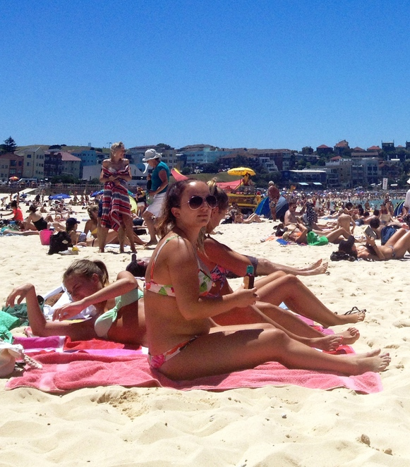Head out to the beach on Australia Day