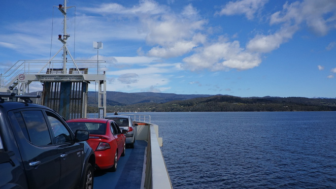 Bruny Island, National Park, Ferry, Tasmania