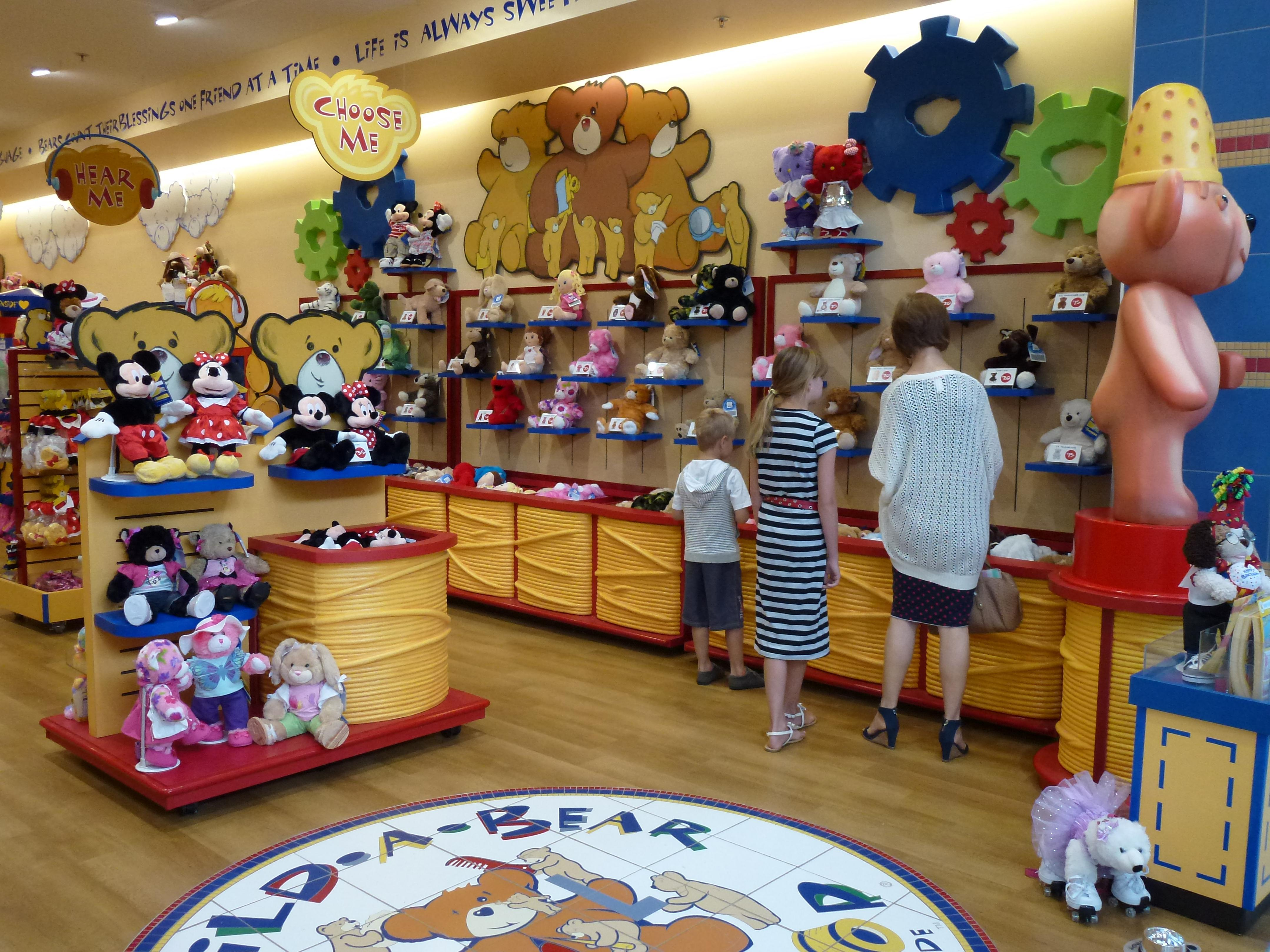 Where Is The Closest Build A Bear Store