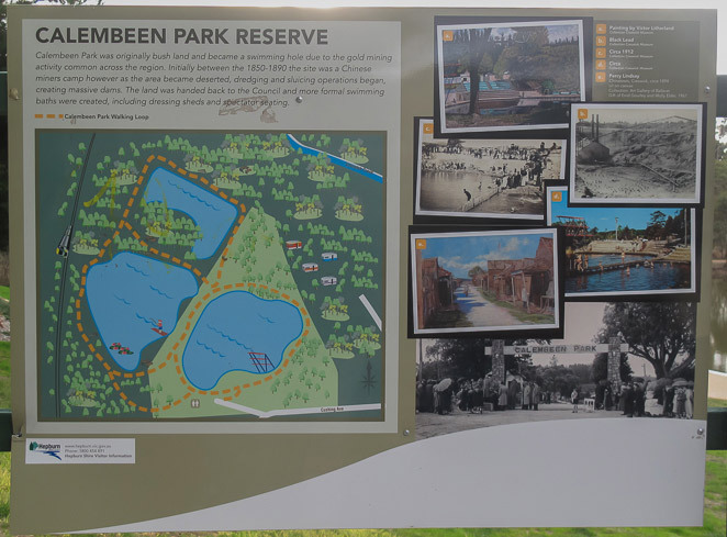 Calembeen Park Sign