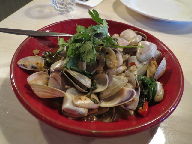 Danny's Thai Bistro, Goolwa Cockles with Holy Basil Chilli, Adelaide