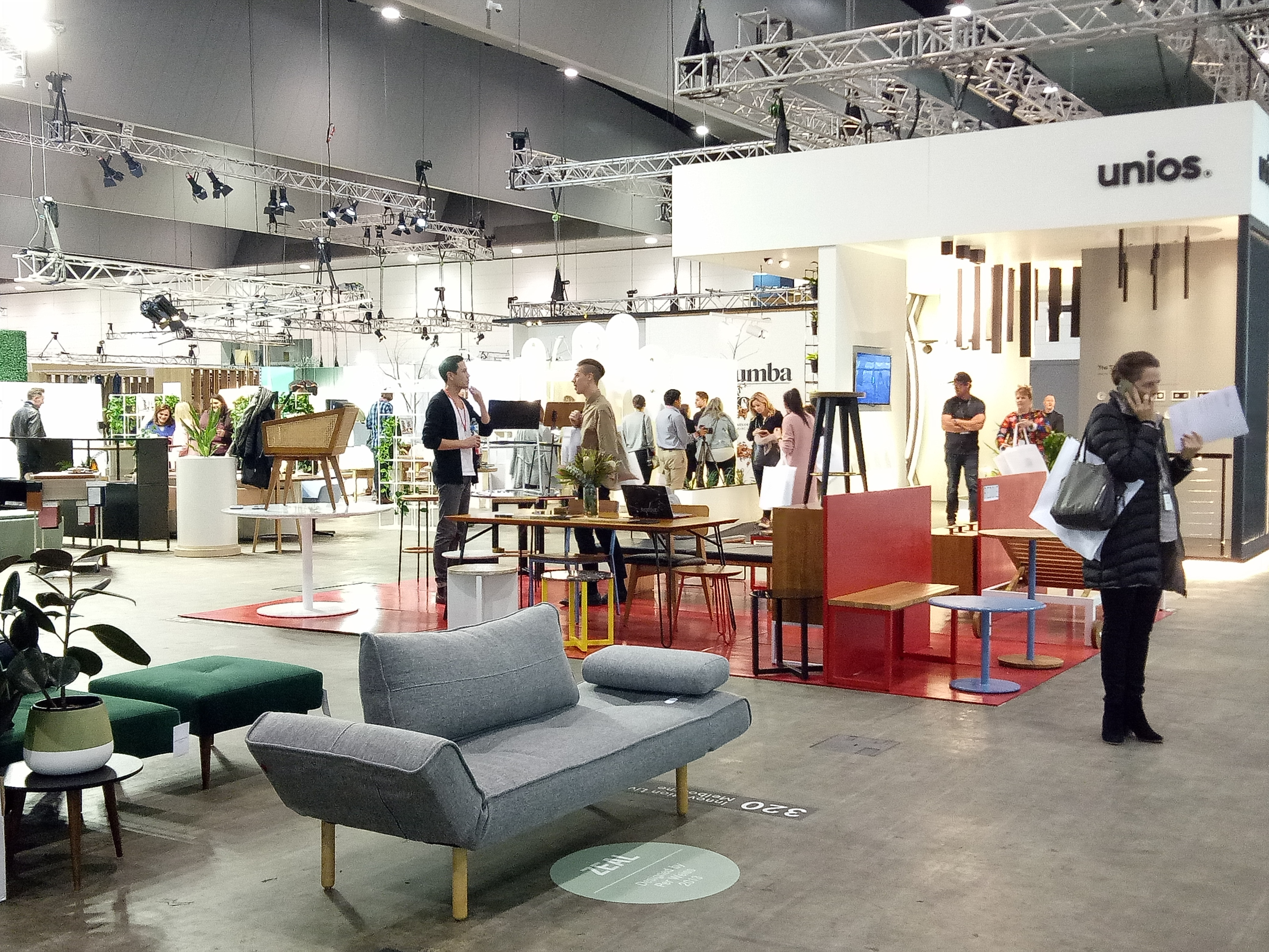 Denfair, Furniture Expo, Interior Design, Interior Styling, Melbourne Convention Centre,