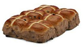 Easter, Hot cross Bun, Bundraiser