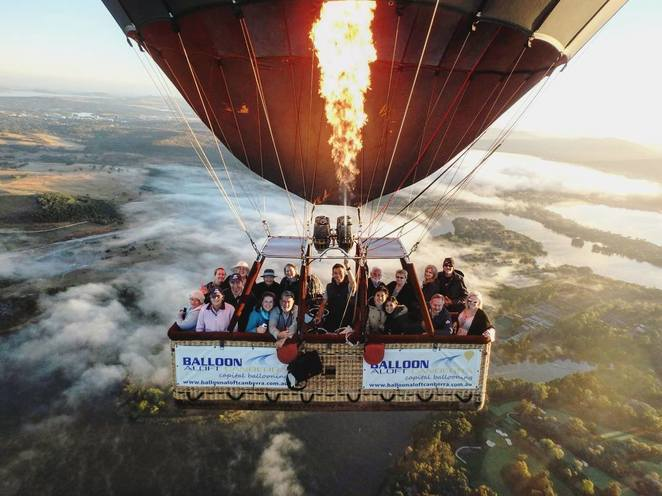 events ACT, canberra balloon spectacular, 2018, balloons aloft, hot air balloons, hot air balloon rides,