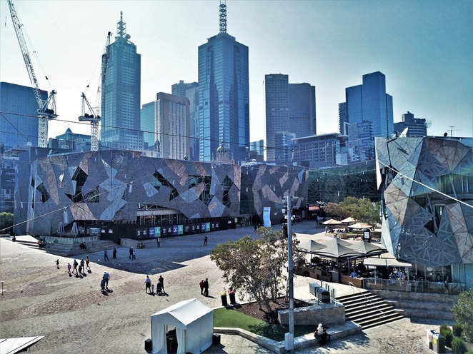 fed square, melbourne