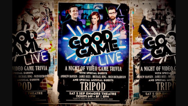 Good game live, abc, good game, enmore theatre, video games, gaming, Bajo, goose, hex