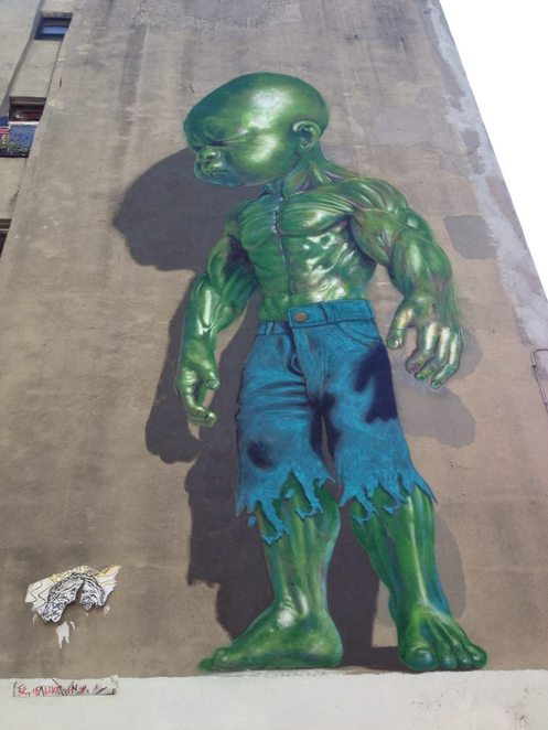 Harlem, street art, grafitti