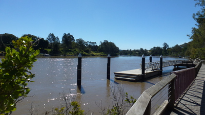 Jetty, River, Park
