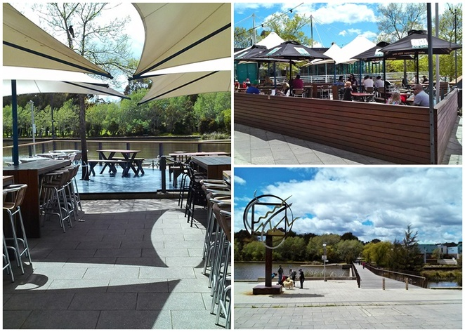 lighthouse pub, canberra, ACT, beer gardens, best beer gardens, outdoor beer gardens, water views, lake ginninderra, belconnen, north canberra, gastro pub, live music,