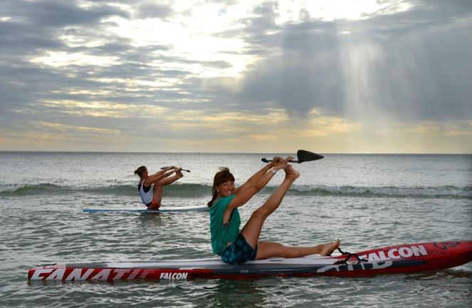 liz guilhaus sup pilates instructor adelaide
