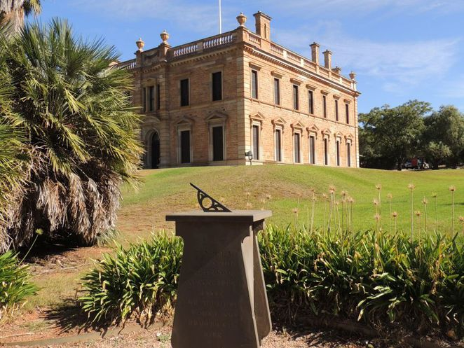 martindale hall, south australian attractions, heritage tourism, south australian, mintaro, grand mansion, clare valley