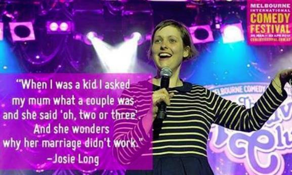melbourne comedy festival 2017,josie long