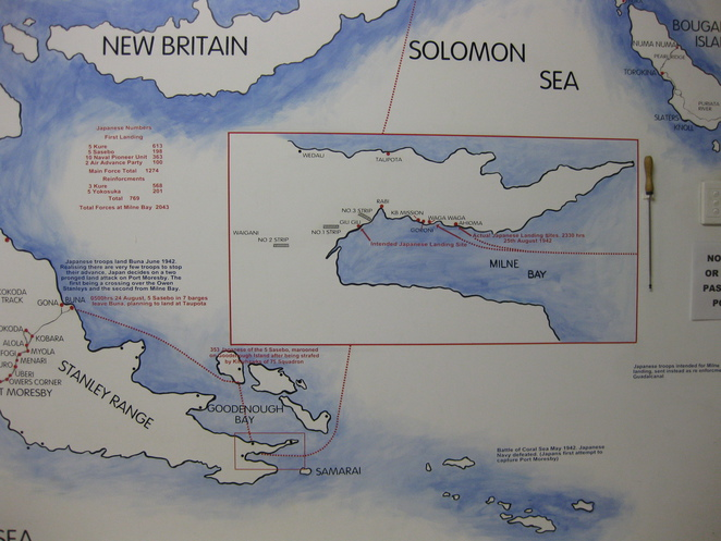 Milne Bay Map