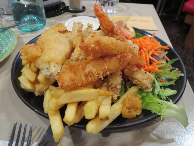 New York Bar & Grill, Seafood Trio, Adelaide