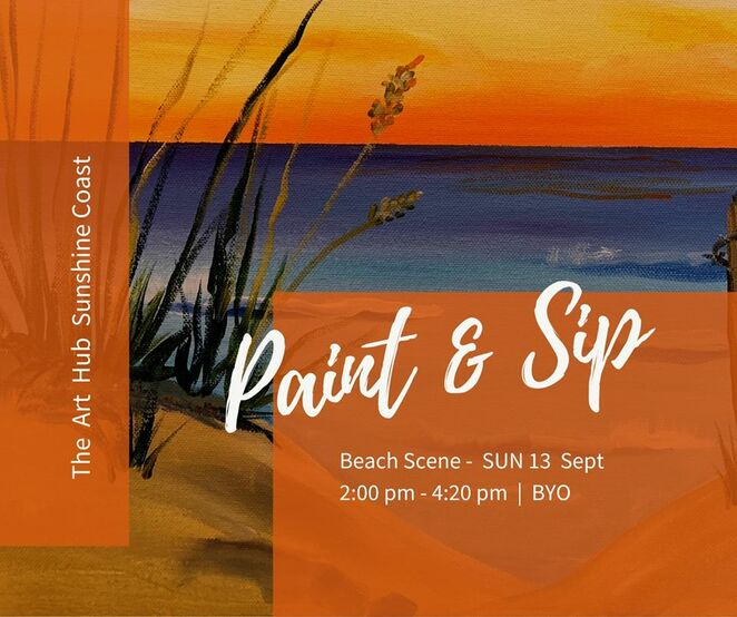 Nine Paint and Sip Socials at The Art Hub, adults only, Caloundra, Creative Arts Facility, social evening, afternoon, sipping on your favourite drink, BYO, all materials supplied, King Protea Paint & Sip, Vivid Hinterland Paint & Sip, Playing with Parrots Paint & Sip, Monet's Garden Paint & Sip, Beach Scene Paint & Sip, Rusty Outback Paint & Sip, Hokusai's Wave Paint & Sip, Native Blossoms Paint & Sip, Glass House Mountains Paint & Sip, Picasso, Matisse, masterpiece, limited spots, book early, Shop Caloundra, Downtown Caloundra