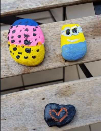 NT Rocks, paint rocks, Casuarina Library, free event, children