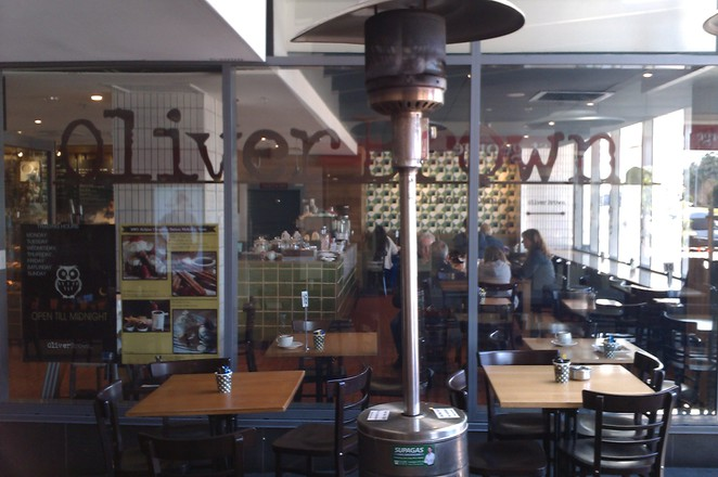 Oliver Brown Chocolate Cafe