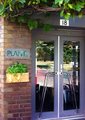 plant13 Cafe Bowden Park Terrace American Diner Clipsal industrial site history sampler tasting menu mac & cheese philly steak sandwich pulled pork bun