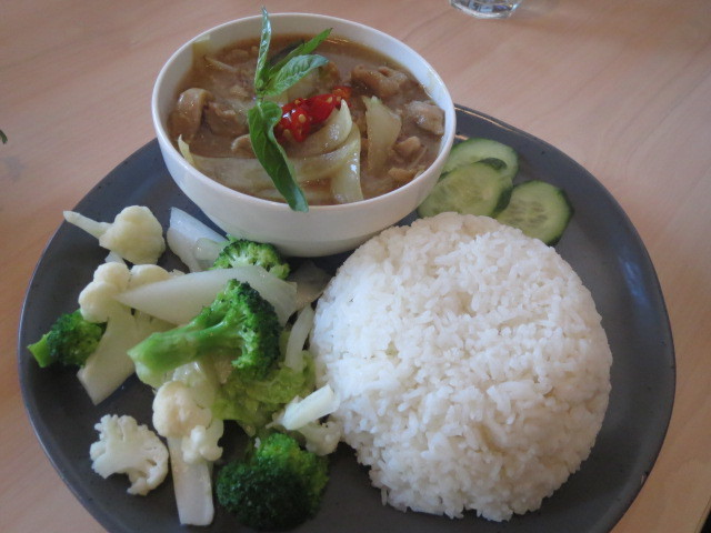 Q Viet, Lemongrass Chicken with Rice, Adelaide