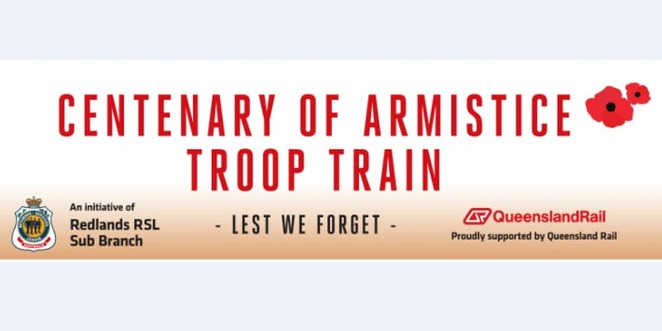 Remembrance Day Troop Train
